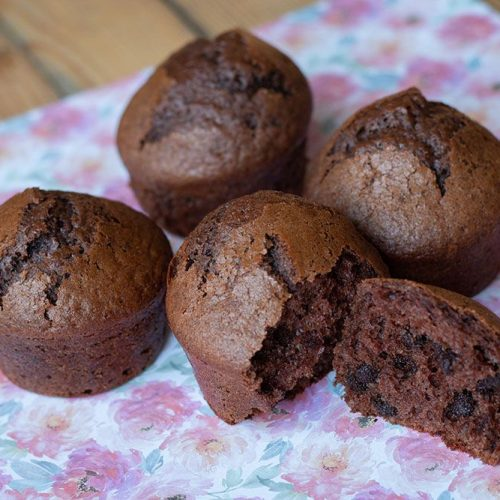 Muffins aux pépites de chocolat (recette de Nigella Lawson)