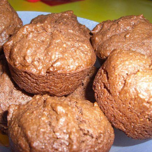Muffins moelleux au chocolat de Pierre Hermé