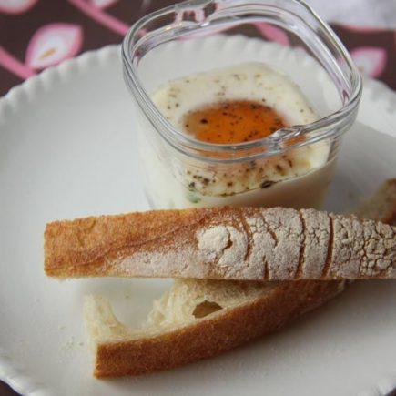 Oeufs Cocotte aux champignons de Paris et au jambon (Multi Délices)