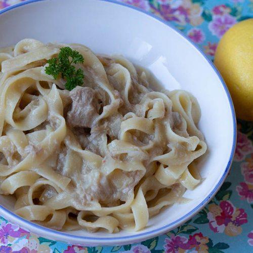 One Pot Pasta Thon et Citron (Bataille food #78 - La Pasta dans tous ses états)