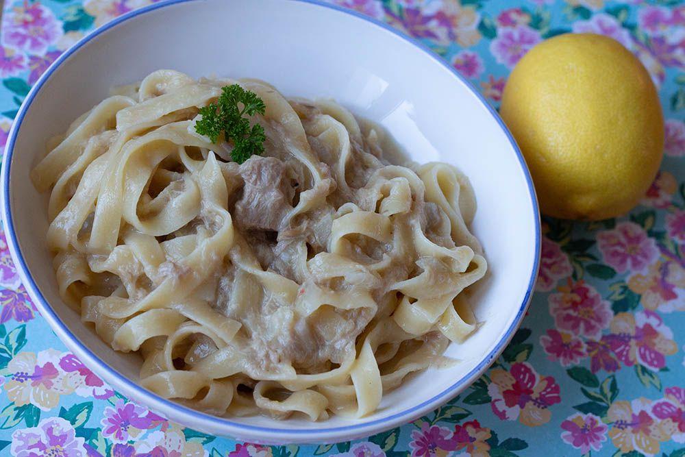 One Pot Pasta Thon et Citron (Bataille food #78 – La Pasta dans tous ses états)