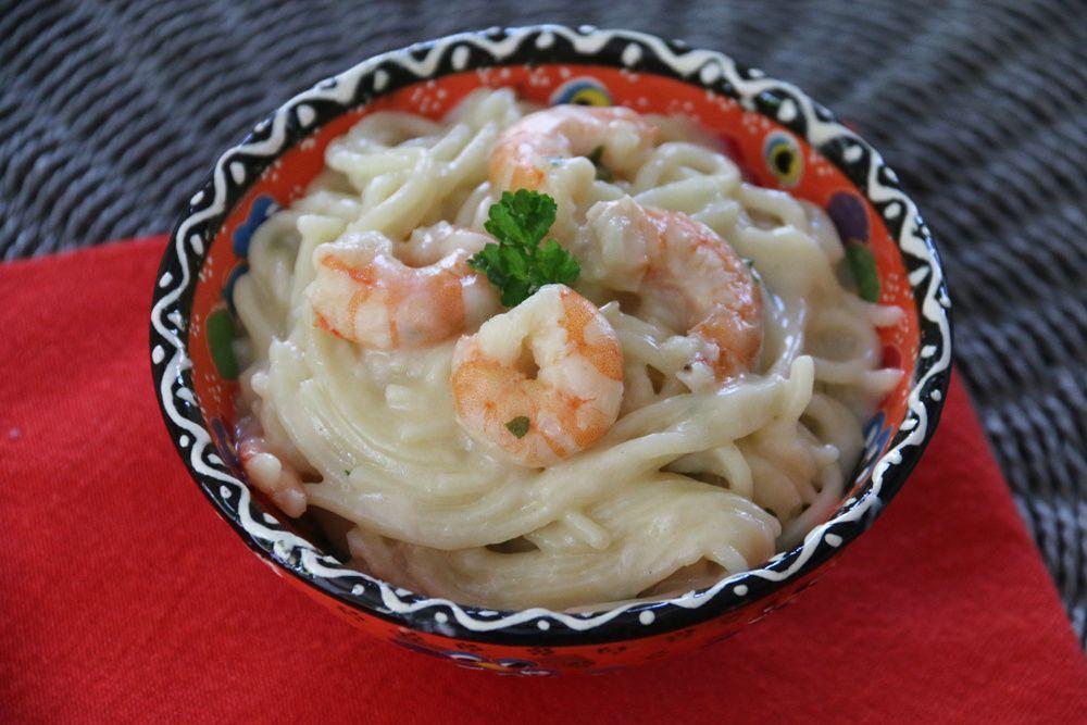 One-Pot Pasta aux crevettes et au lait de coco