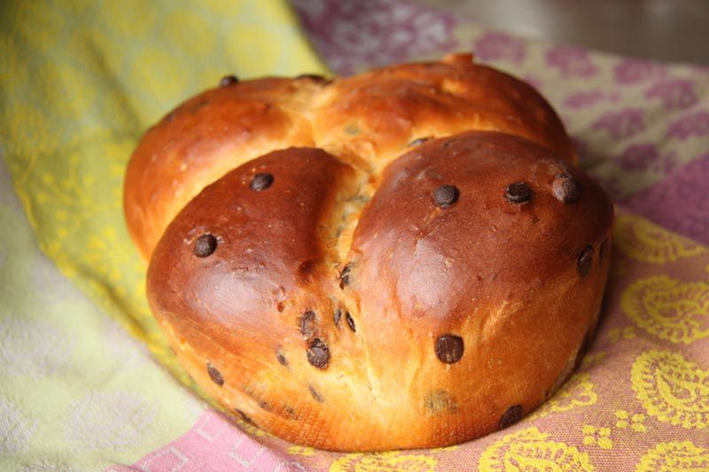 Pain de mie Orange – Chocolat de Christophe Felder