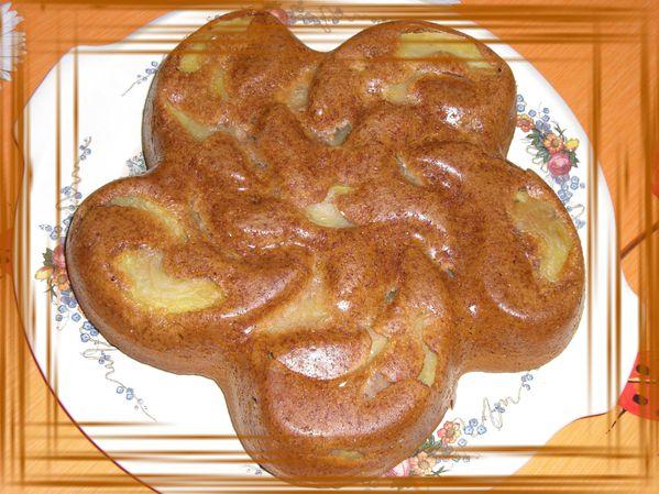 Pain d'épices aux pommes