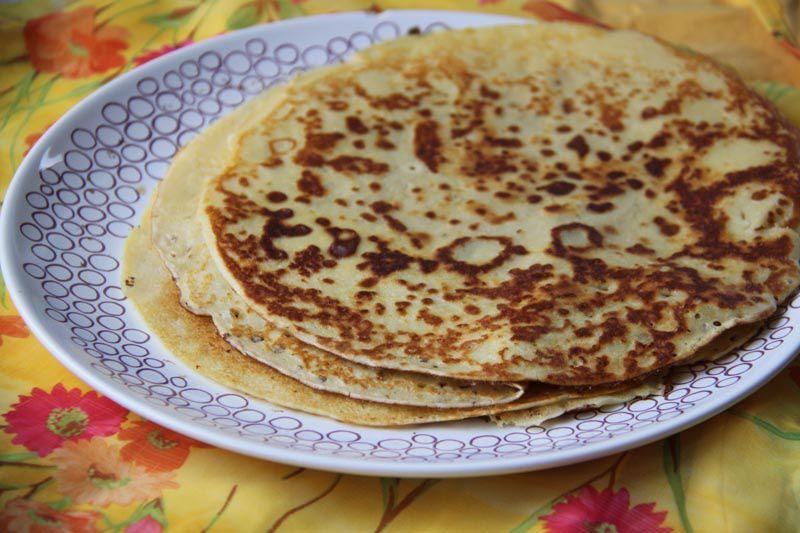 Pâte à crêpes simple et rapide (Shaker Tupperware)