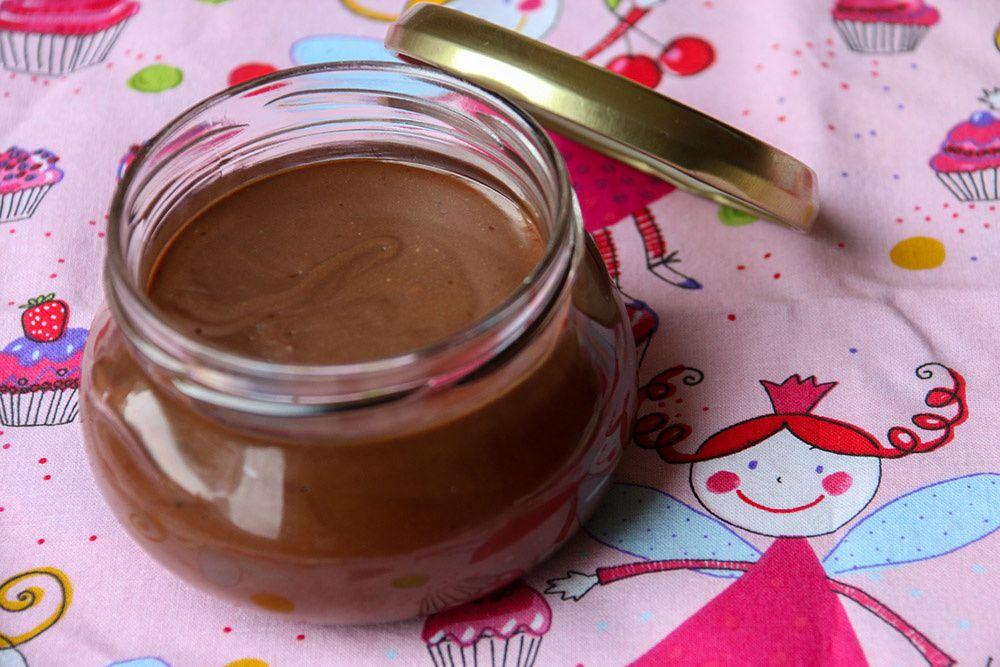 Pâte à tartiner chocolat – noisettes Maison (au Thermomix)