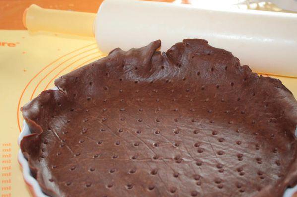 Pâte brisée au chocolat
