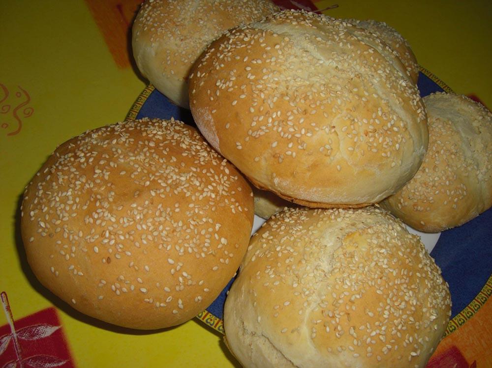 Petits pains pour Hamburgers