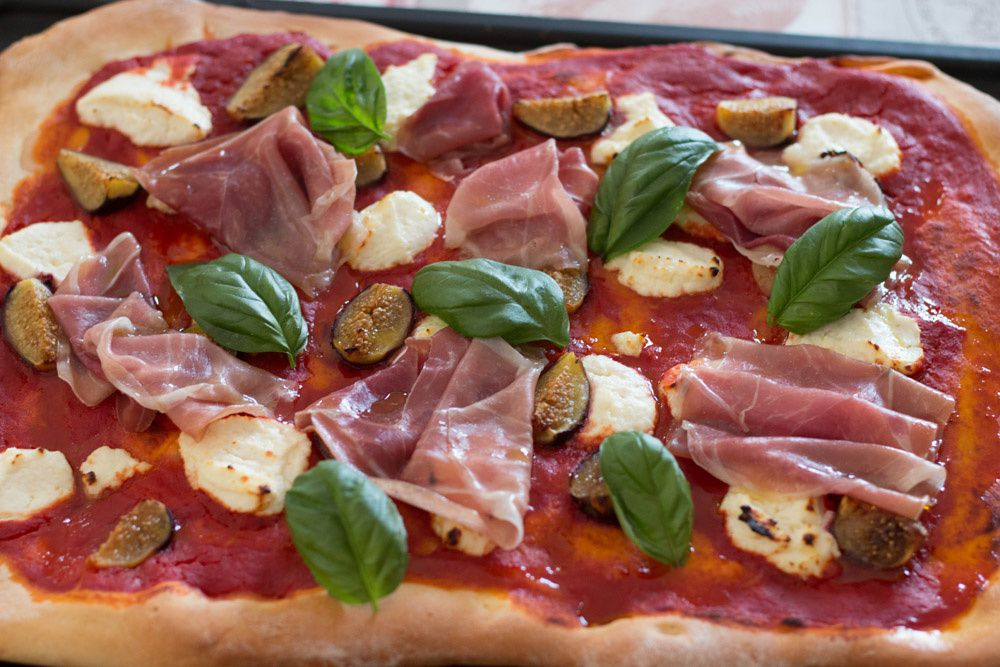 Pizza Jambon – Figues
