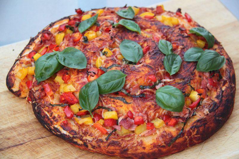 Pizza en spirale