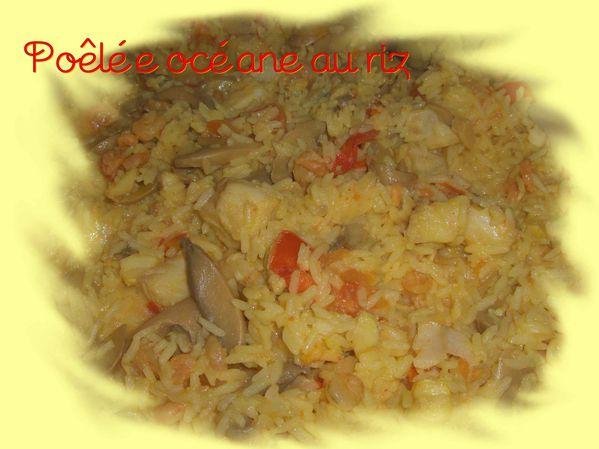 Poêlée océane au riz