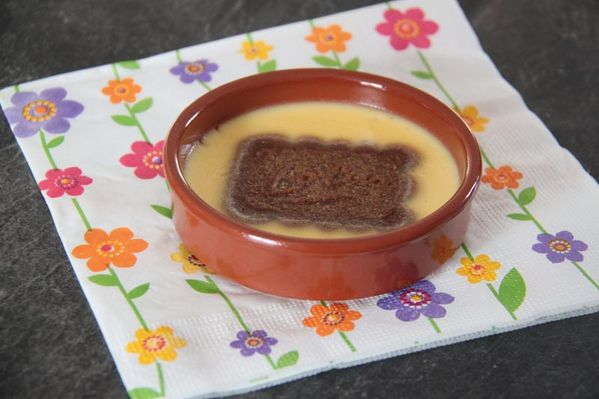Pots de crème à la vanille et au Spéculoos