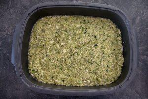 Poulet aux courgettes et au riz 1