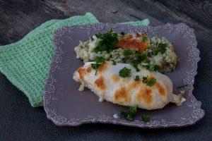 Poulet aux courgettes et au riz