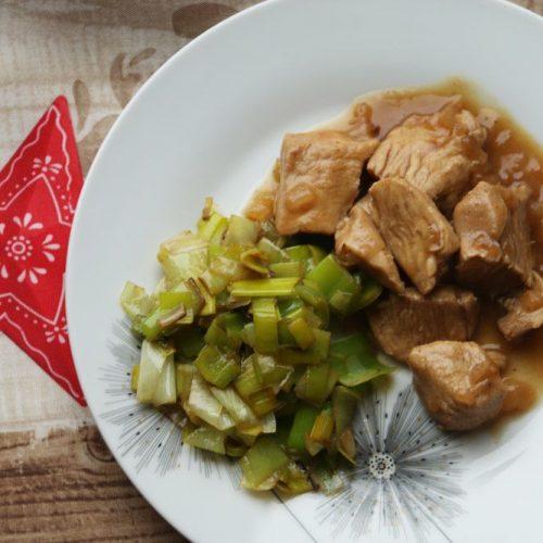 Poulet-aux-poireaux