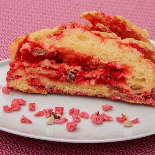 Praluline (la fameuse recette de Brioche aux pralines roses de François Pralus)