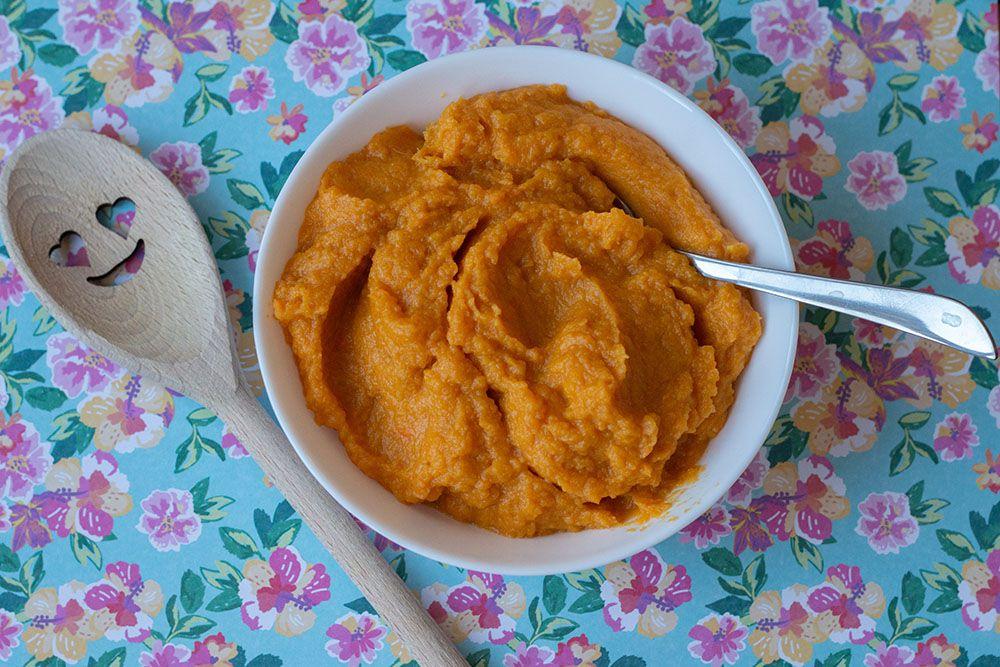 Purée de patates douces (au Thermomix ou sans)