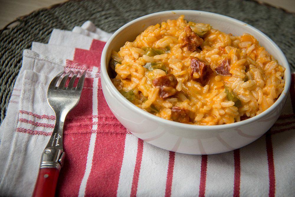 risotto au chorizo (au Cookeo)