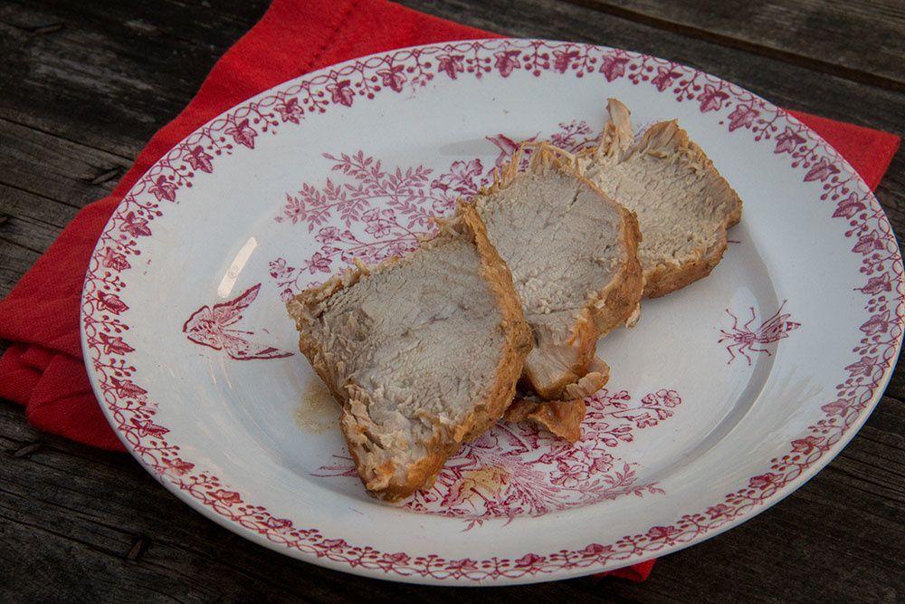 Rôti de porc 4 épices moutarde et miel balsamique (au Cookeo)