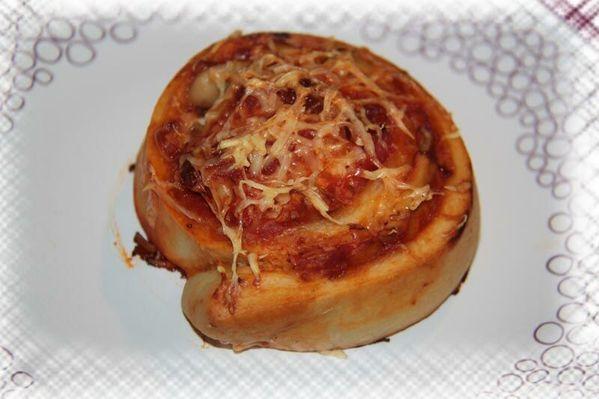 Roulés façon Pizza