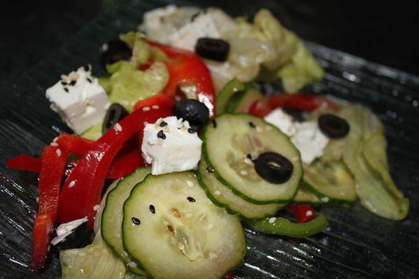 Salade Grecque Japonisée