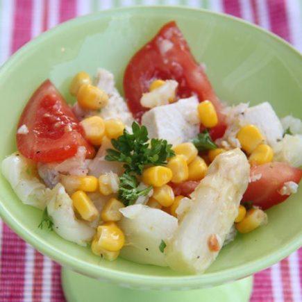 Salade aux asperges