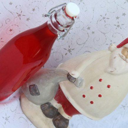 Sirop aux fraises Tagada (au Thermomix ou sans) (Cadeaux gourmands)