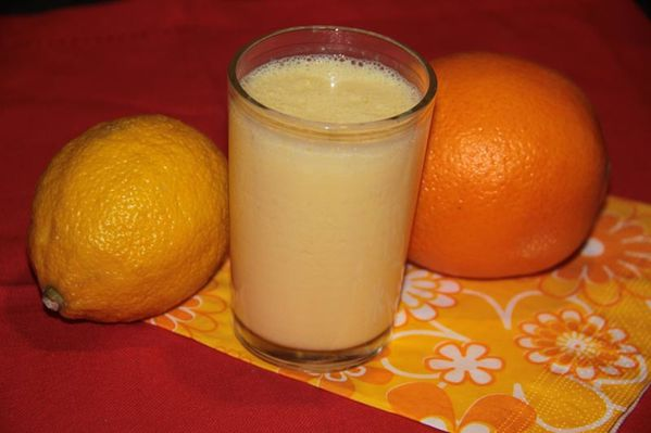 Smoothie Oranges et citron