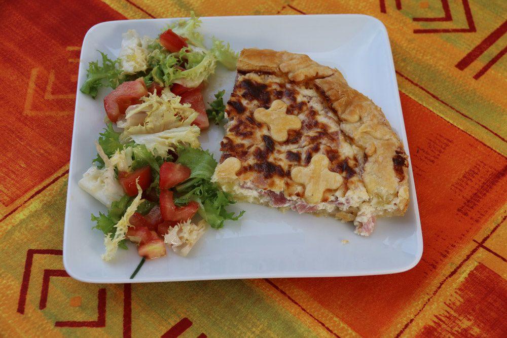 Tarte Jambon – Ricotta