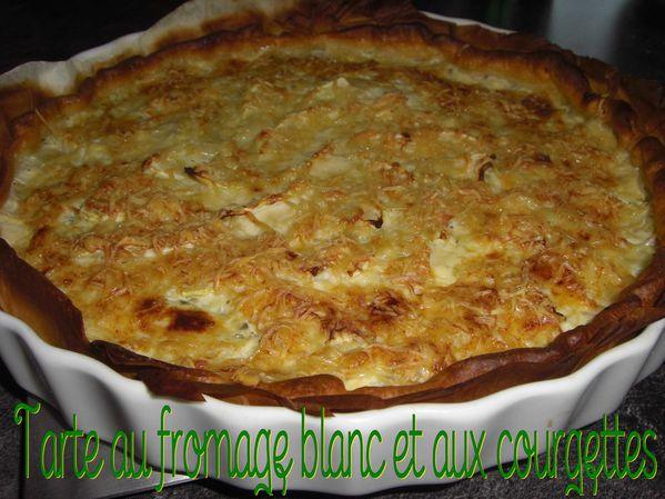 Tarte Thibault (au fromage blanc et aux courgettes)