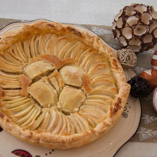 Tarte amandines aux pommes de Mercotte