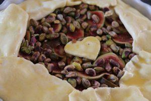 Tarte rustique aux figues miellées