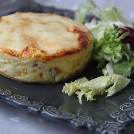 Tartelettes lardons raclette