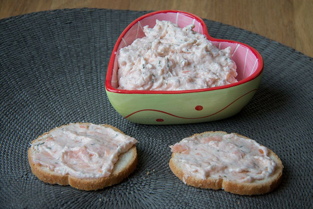 Tartinade au saumon (au Thermomix ou sans)