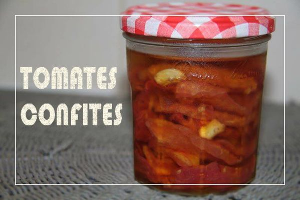 Tomates confites de Chef Damien