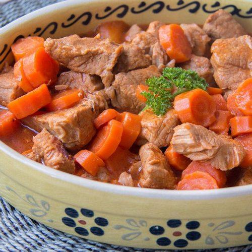 Veau Marengo (au Cookeo)