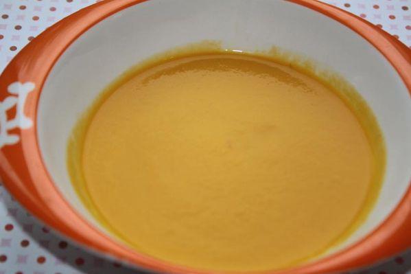 Velouté fenouil carottes