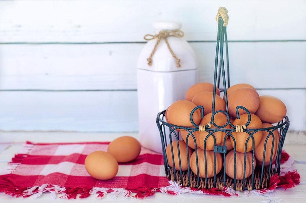 Les codes sur les œufs