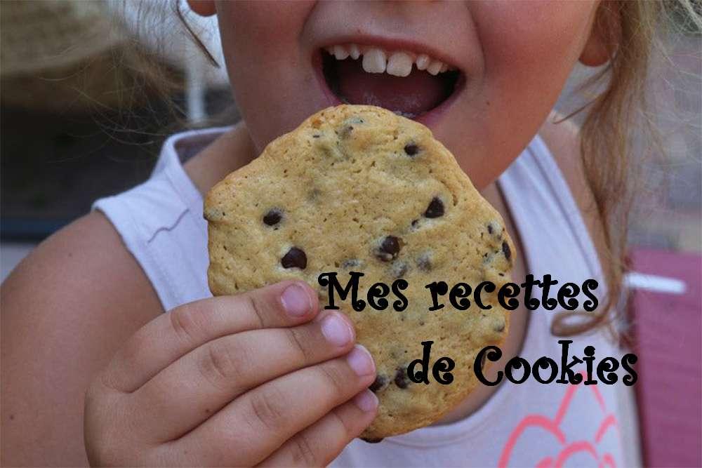 Récap de mes recettes de Cookies