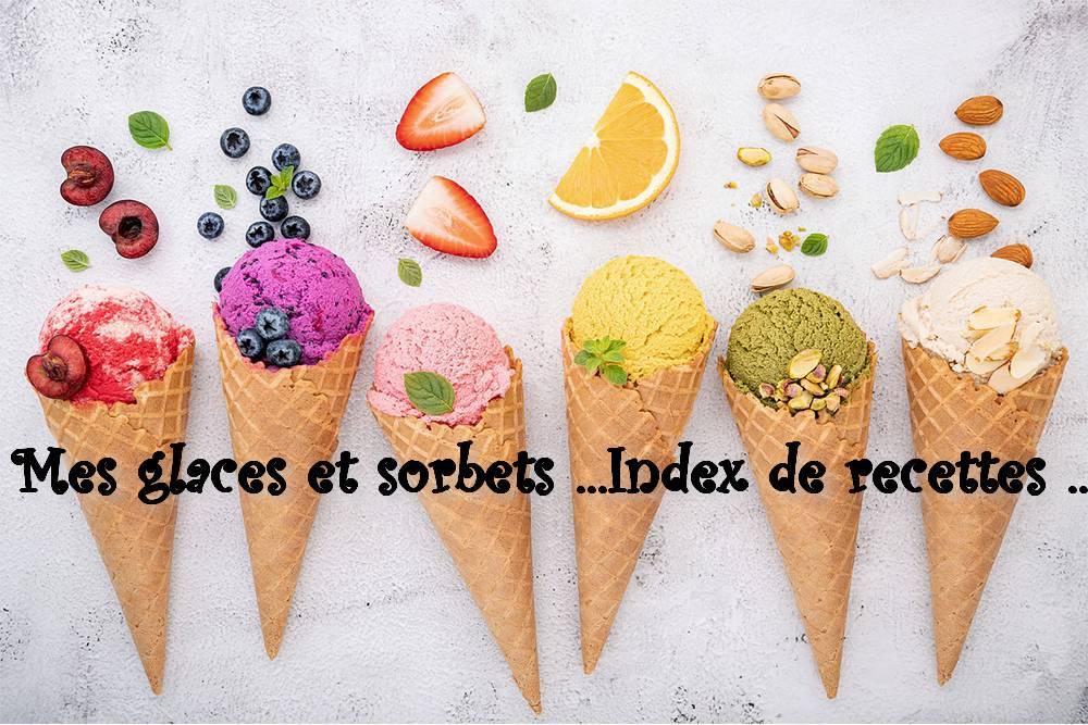 Index Glaces et sorbets