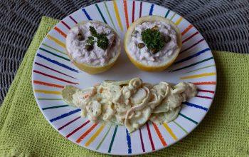 Salade fraîcheur concombre et surimi 1
