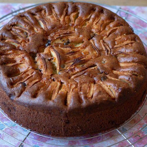 Gateau-Pommes-Mascarpone-et-chocolat-1