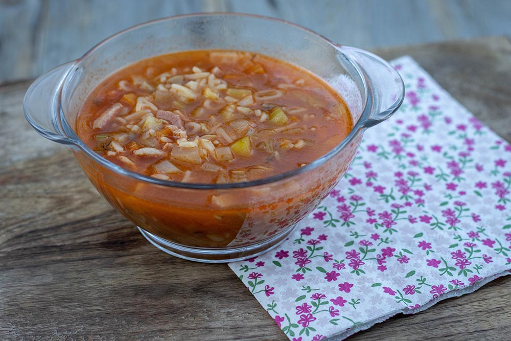 Minestrone de légumes (recette de Cyril Lignac)