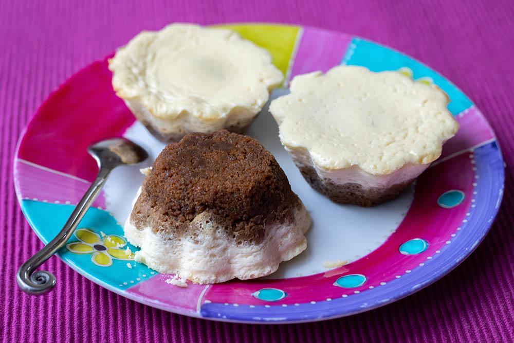 Mini cheese-cake au Nutella