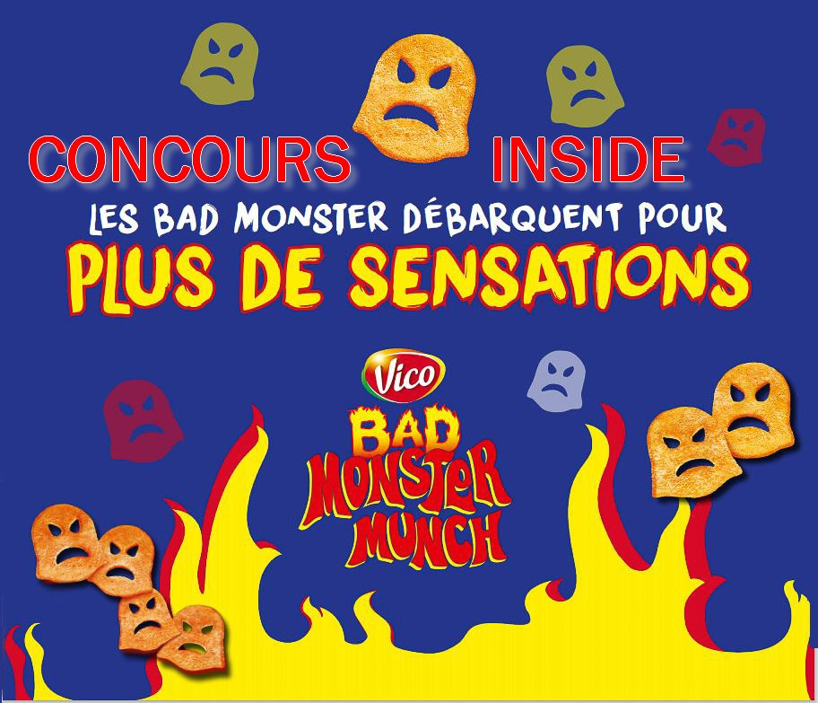 Bad Monster Munch (Concours inside)