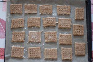 Biscuits à l'épeautre et au sésame