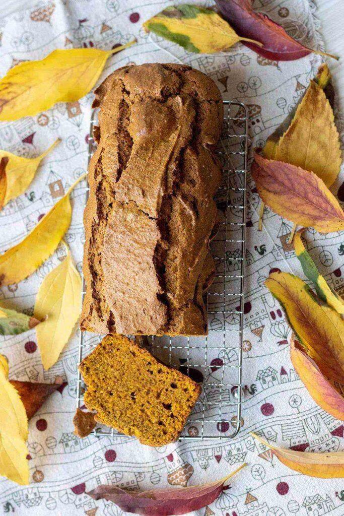 Cake au potimarron et à la cannelle
