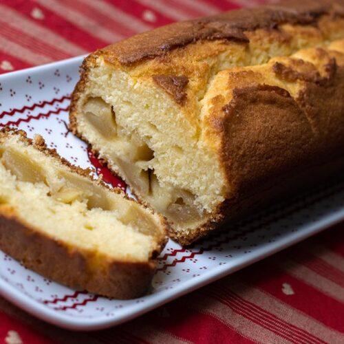 Cake aux pommes et au yaourt