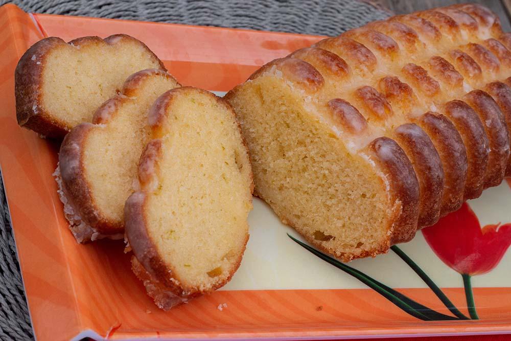 Cake citron vert et rhum de Christophe Michalak