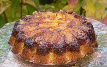 Quatre-quarts aux pommes (recette de Christophe Felder)